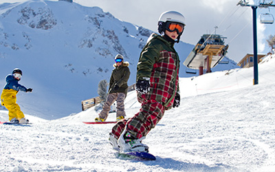 Kids Stay & Ski Free in February and March